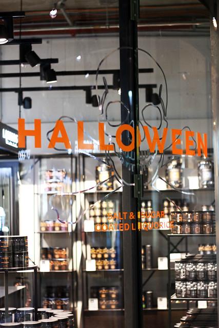 Halloween at Lakrids in Berlin