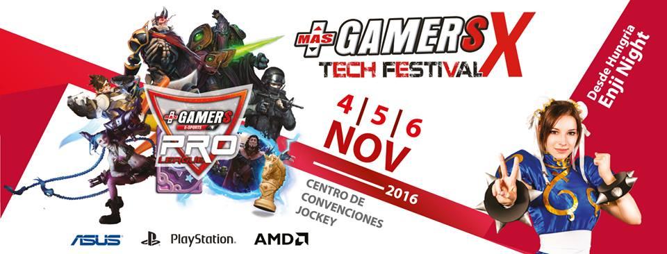 Lanzamiento oficial del MásGamers Tech Festival X