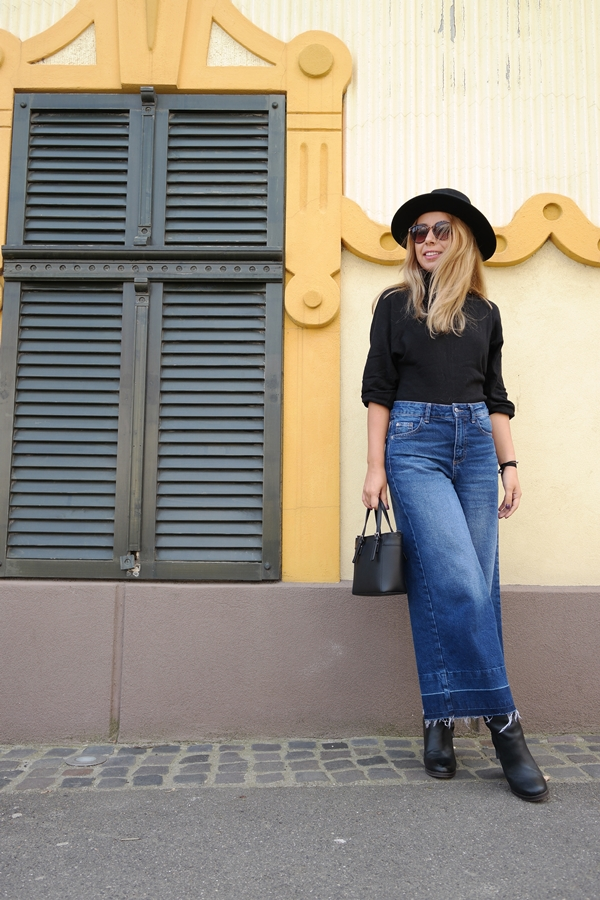 Denim Culottes 3