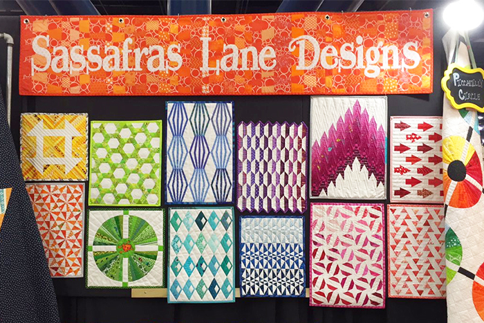 Quilt Market Booth Fall 2016 - Sassafras Lane Designs