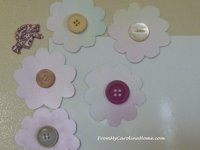 Magnet Board Project ~ From My Carolina Home