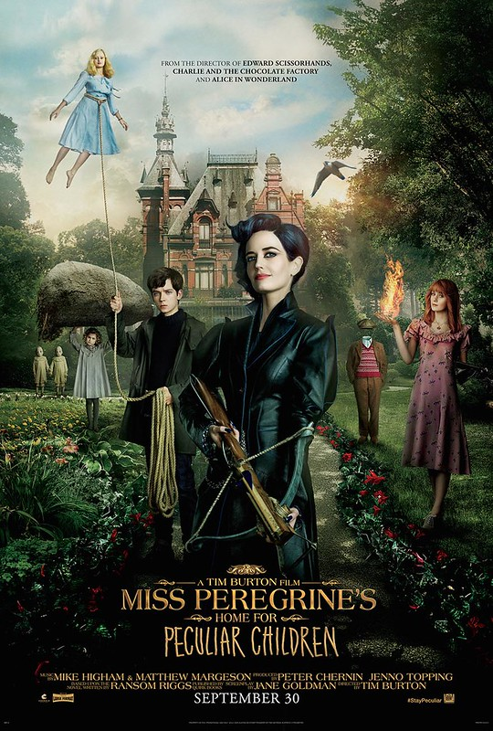 Miss Peregrine's Home for Peculiar Children - Poster 1