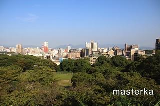 福岡城からの景色