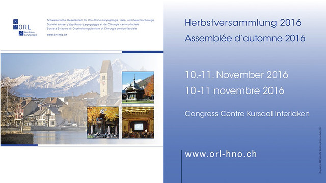 ORL HNO - Interlaken, 2016