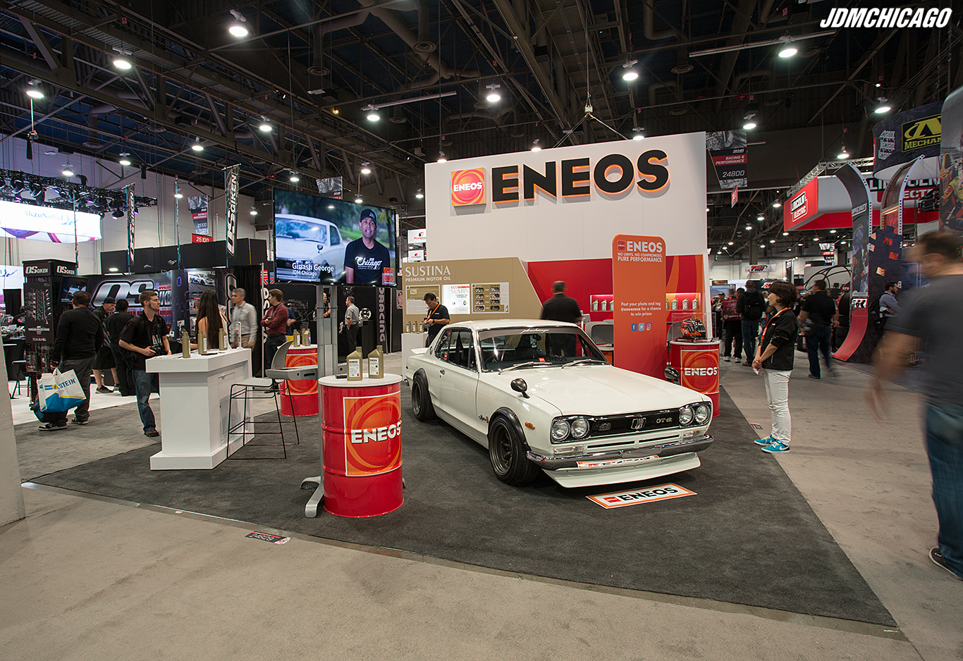 ENEOS Booth SEMA 2016