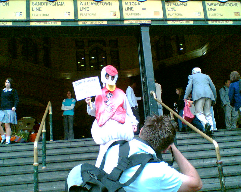 PTUA Duck at Flinders Street, November 2006
