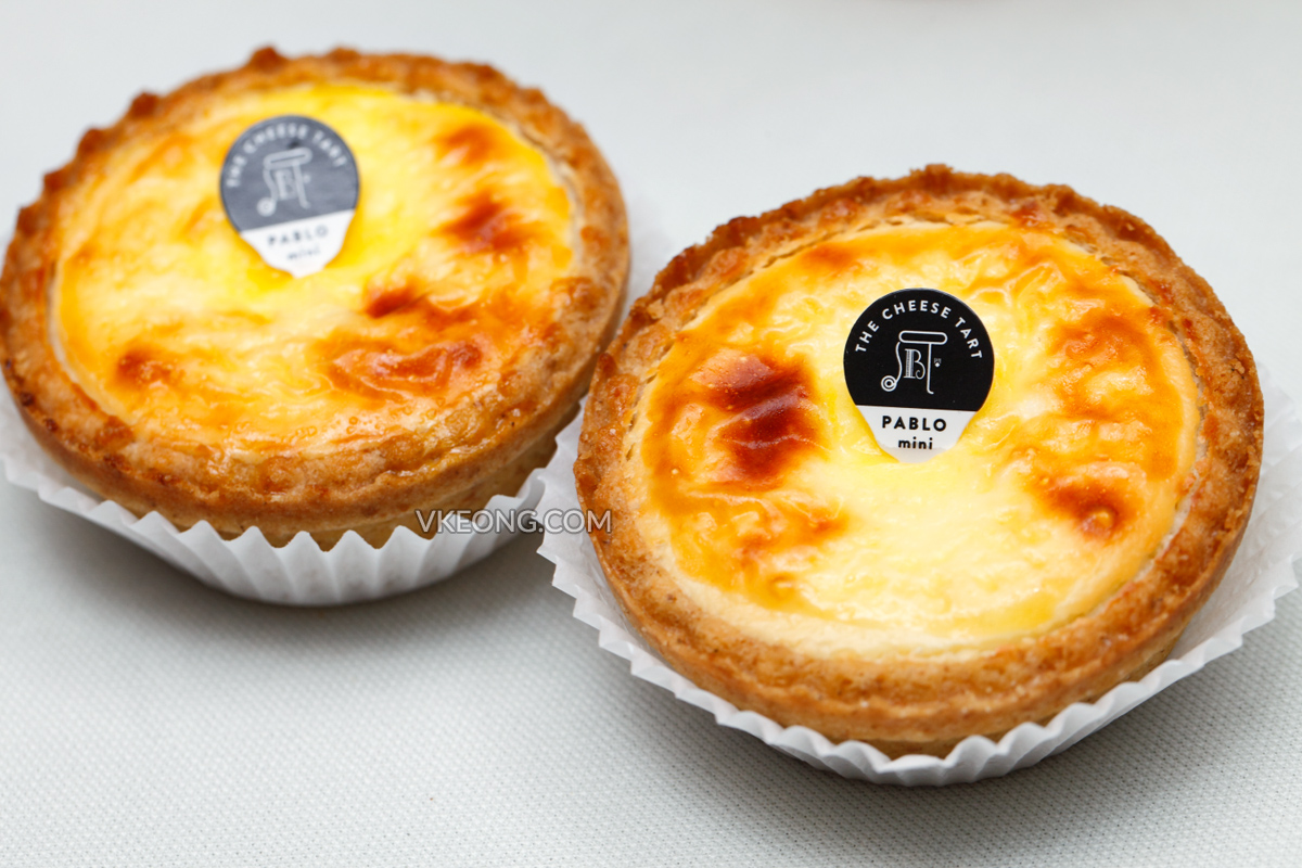 Pablo Mini Cheese Tart 1 Utama