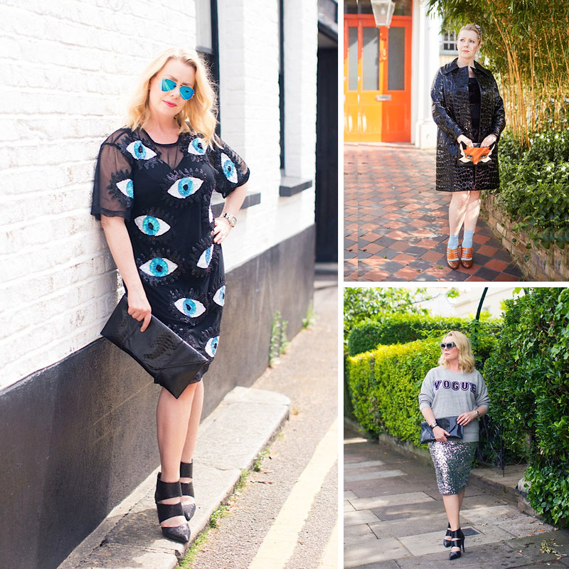 Lisa - The Sequinist, over 40 fashion & style blogger