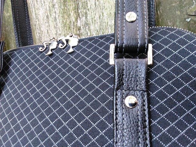 Blue Calla Boronia Bowler Bag Strap Detailing