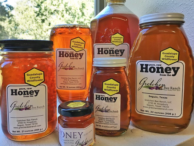 2016 Guadalupe County Wildflower Honey