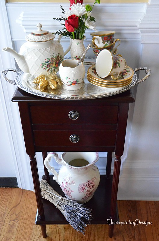 Holiday Table for Tea-Housepitality Designs