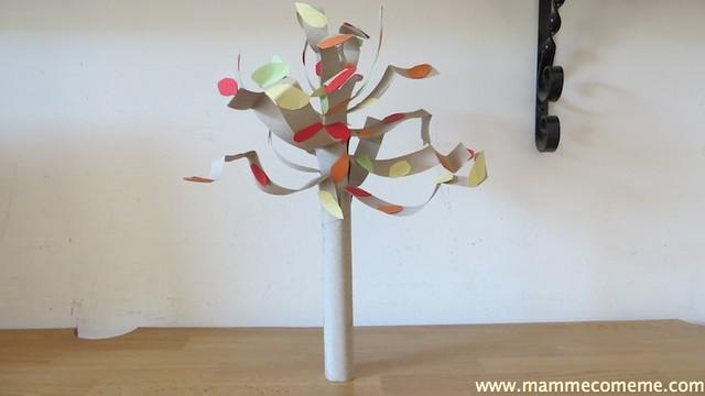 Lavoretti dell'autunno: albero