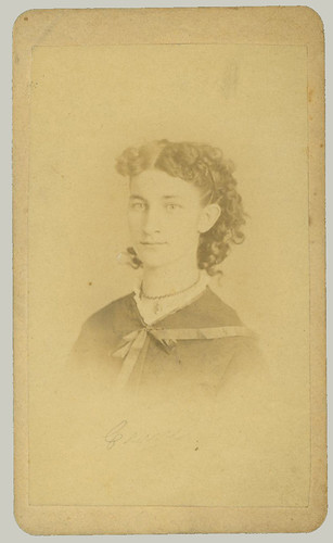 CDV portrait of a young lady