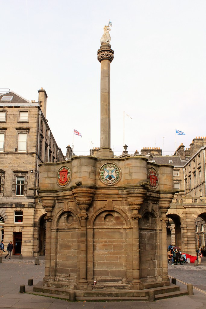 Mercat Cross, Edinburgh, Scotland