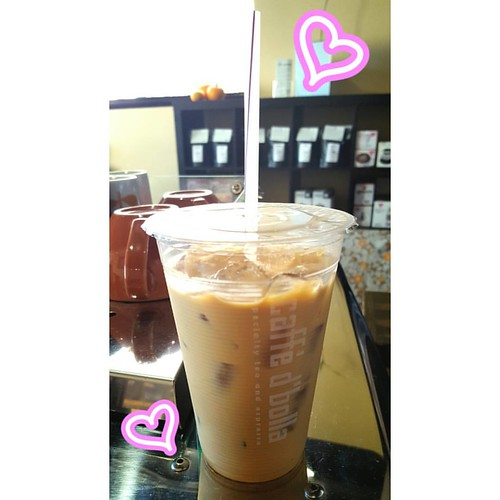 Time for an afternoon iced latte!