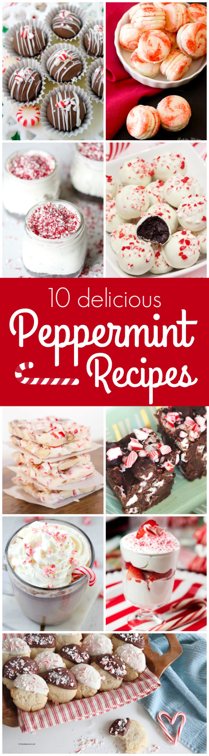 10 Peppermint Recipe perfect for the holidays!