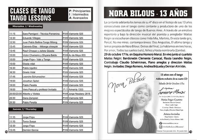 Revista PUNTO TANGO 120 Octubre 2016 - 03