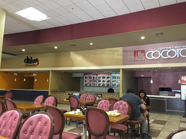 What happened to this food court???