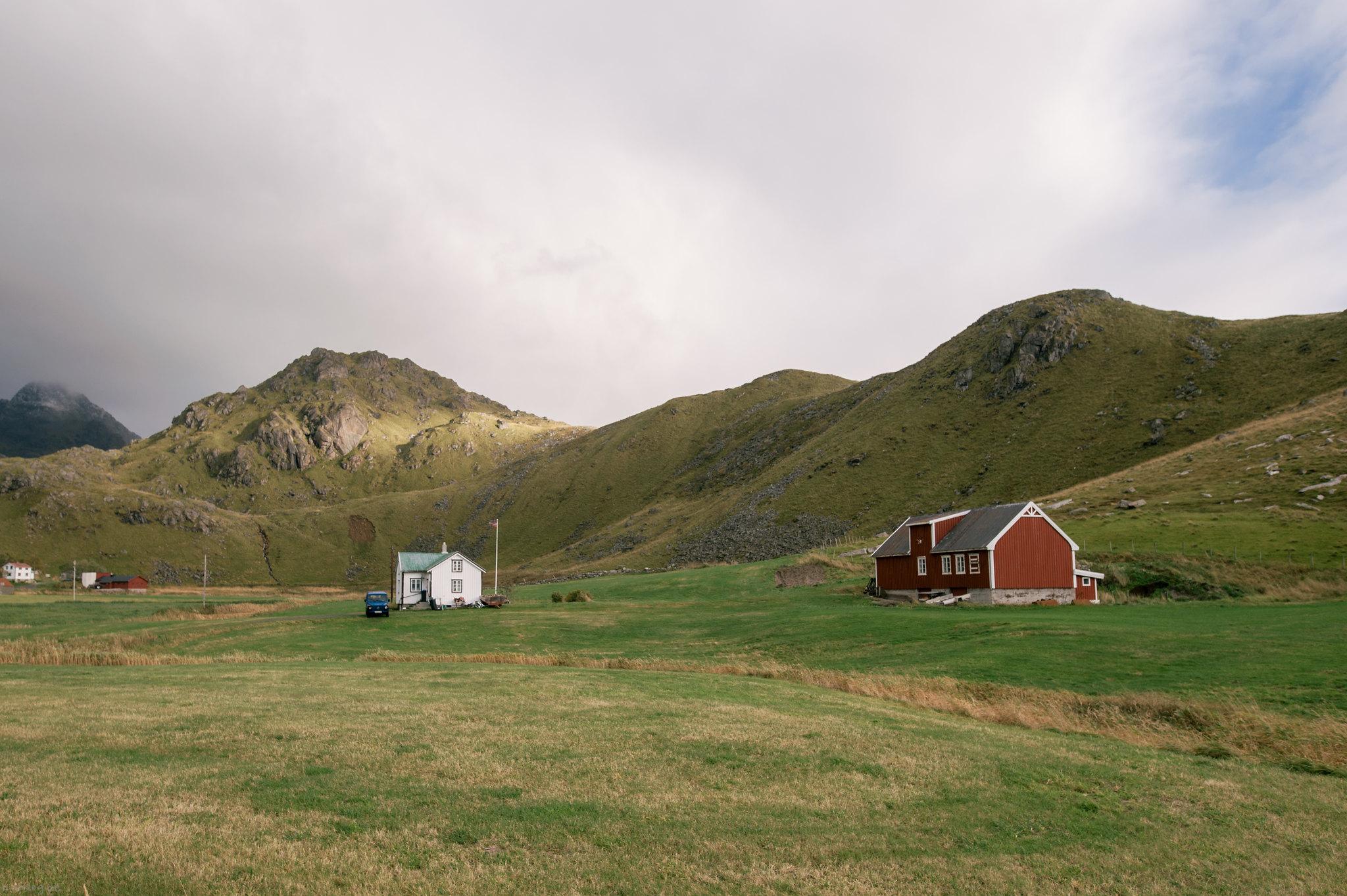 Typical norwegian landscape