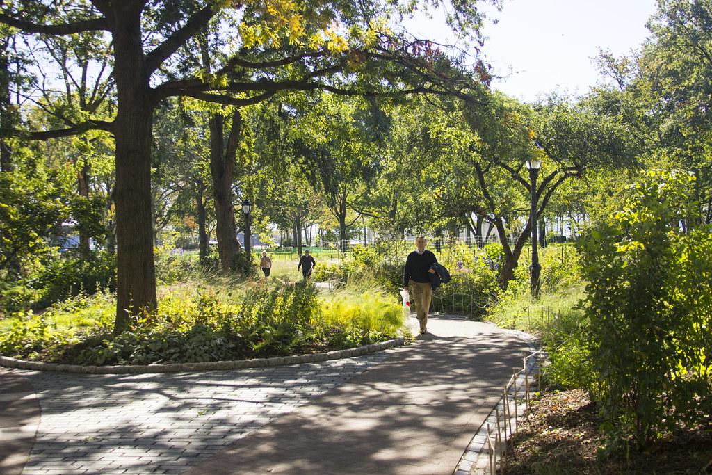 Battery Park Stroll