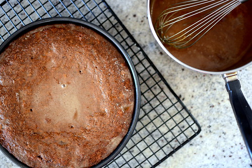 Sticky Toffee Whole-Wheat Date Cake