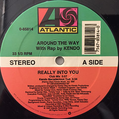 AROUND THE WAY:REALLY INTO YOU(LABEL SIDE-A)
