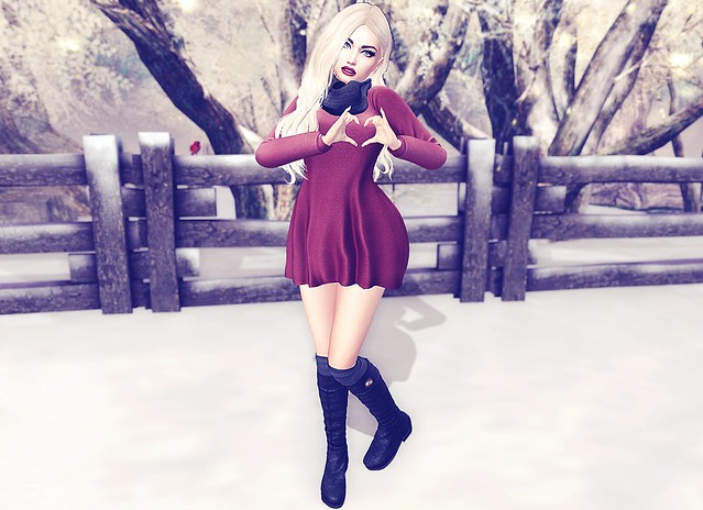 Winter Love - FATE Hand Poser HUD for Bento