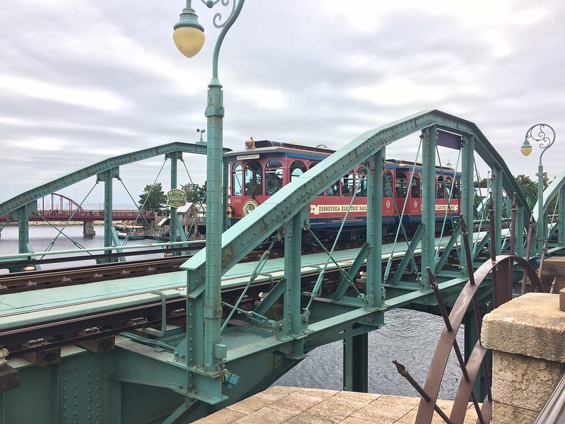 迪士尼海洋電氣化鐵路