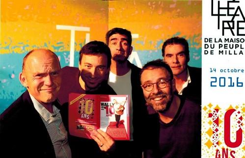 Avec les bonimenteurs, PIerre Lericq, Stéphane Chatellard