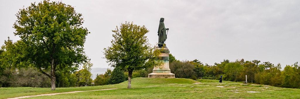 Vercingetorix-Statue auf dem Mont-Auxois
