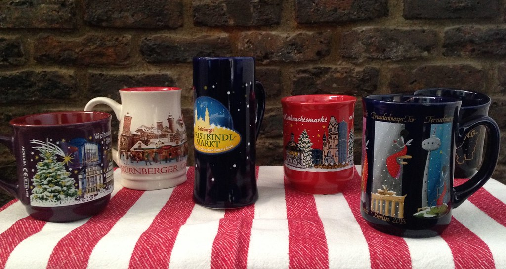 Mug Collection, German Christmas Markets