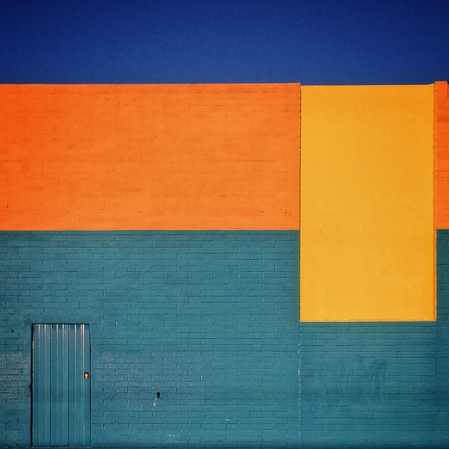 wall of rectangles