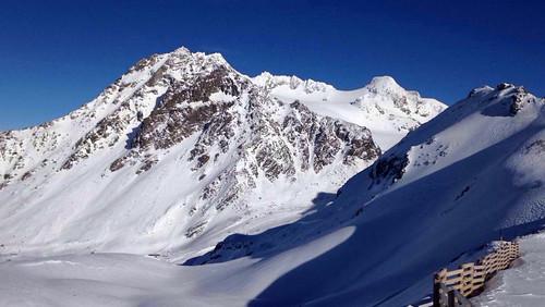 Vue sur le massif de Péclet