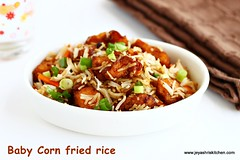 baby corn fried rice