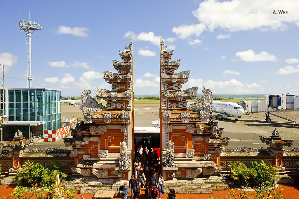 Balinese archways