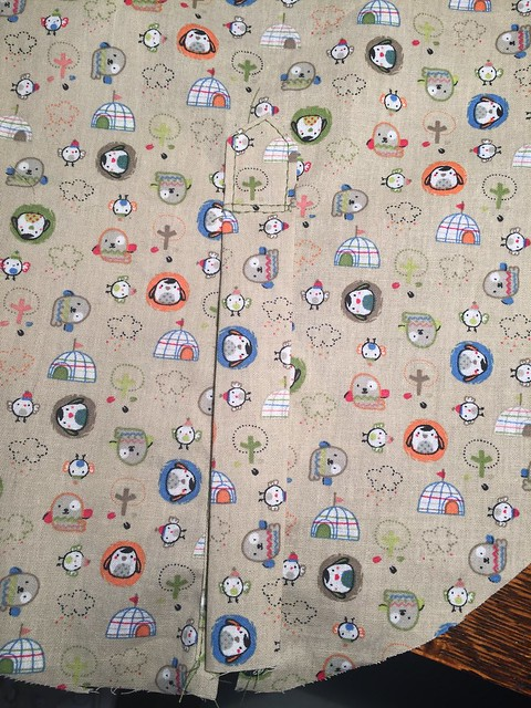 sleeve placket sewing dress shirt