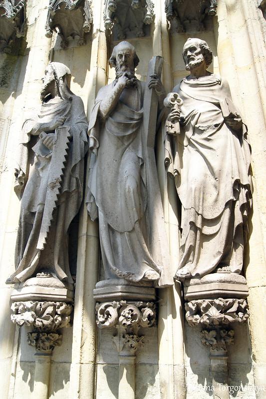 Фасадные скульптуры