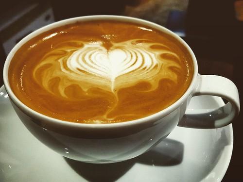 a delicious latte