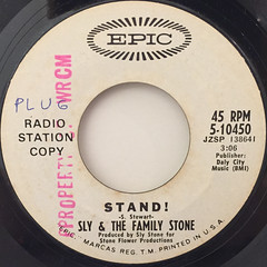 SLY & THE FAMILY STONE:STAND!(LABEL SIDE-A)
