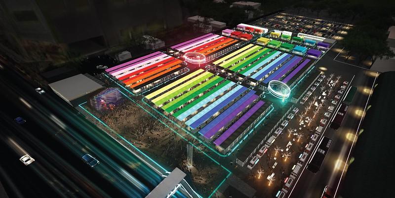 talad neon bangkok