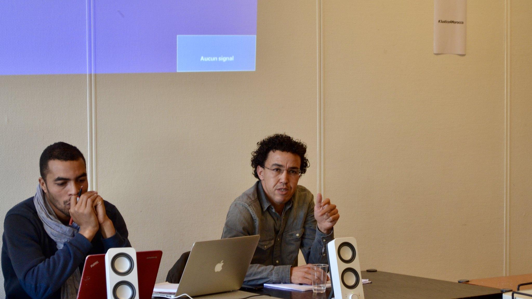 Octobre 2016 - Hicham Mansouri et Abdessamad Ait Aicha (Samad Iach)
