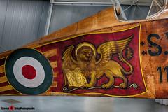11721 - - Italian Army - Ansaldo SVA.5 - Italian Air Force Museum Vigna di Valle, Italy - 160614 - Steven Gray - IMG_9903_HDR