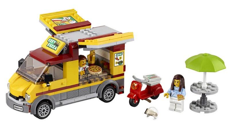 LEGO City 2017 - Pizza Van (60150)