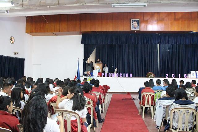 Despedida de estudiantes promoción 2016