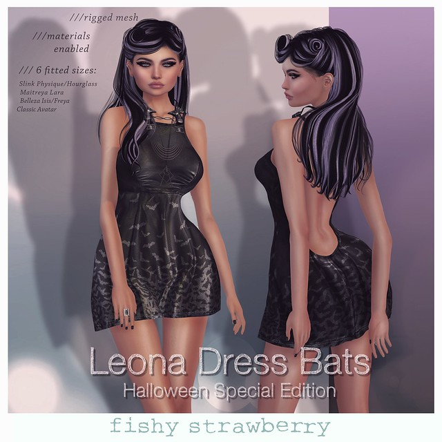 Leona Dress Halloween Edition