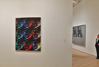 SFMoMA - Andy Warhol Nine Marilyns