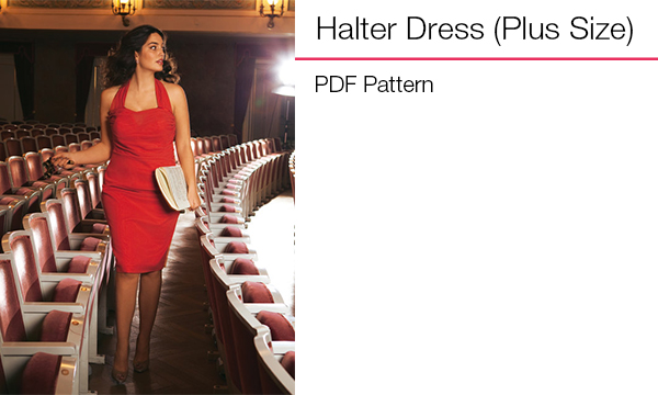 Halter Dress (Plus Size)