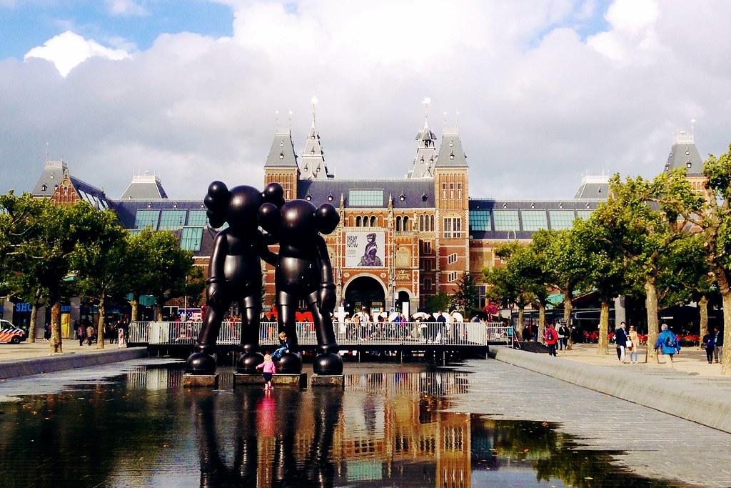 Drawing Dreaming - dois dias em Amsterdão - Museumplein, I Amsterdam