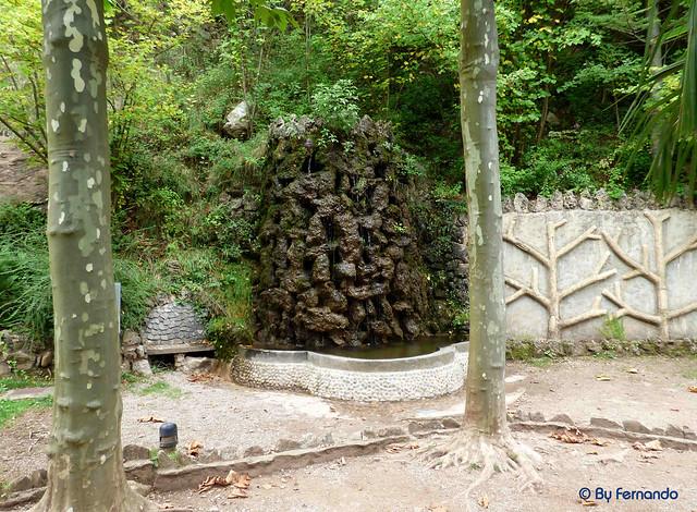 Jardins Artigas (La Pobla de Llillet) -06- La Cascada 01 (12-10-2016