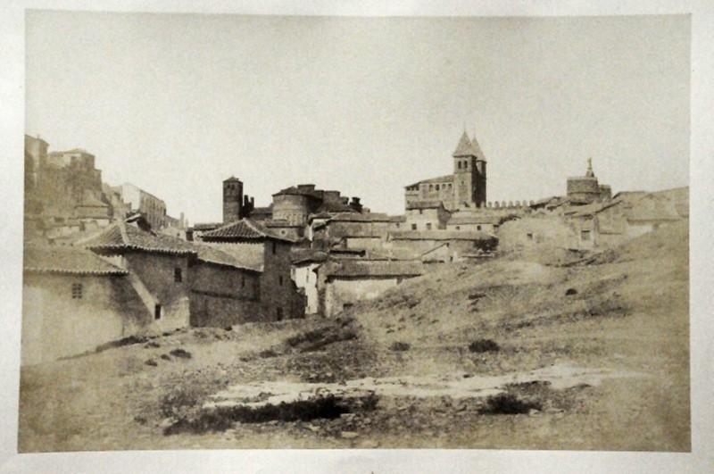 Arrabal de la Antequeruela en Toledo en 1852. Fotografía de Felix Alexander Oppenheim © Museum für Islamische Kunst, Staatliche Museen zu Berlin